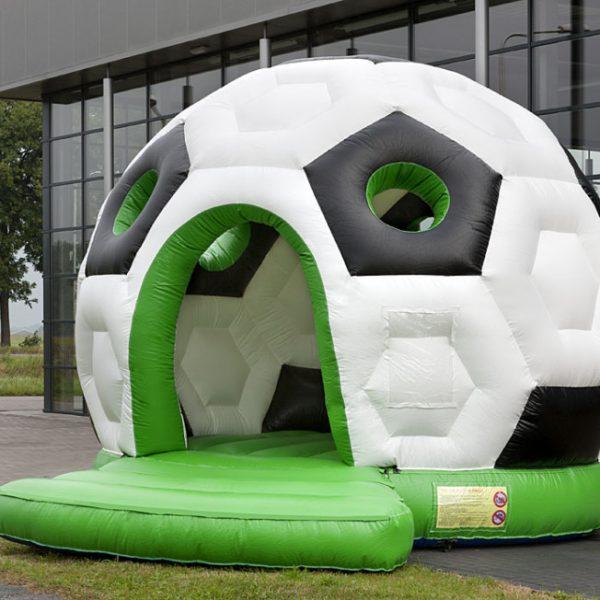 Springkussen Voetbal huren te huur luchtkussen